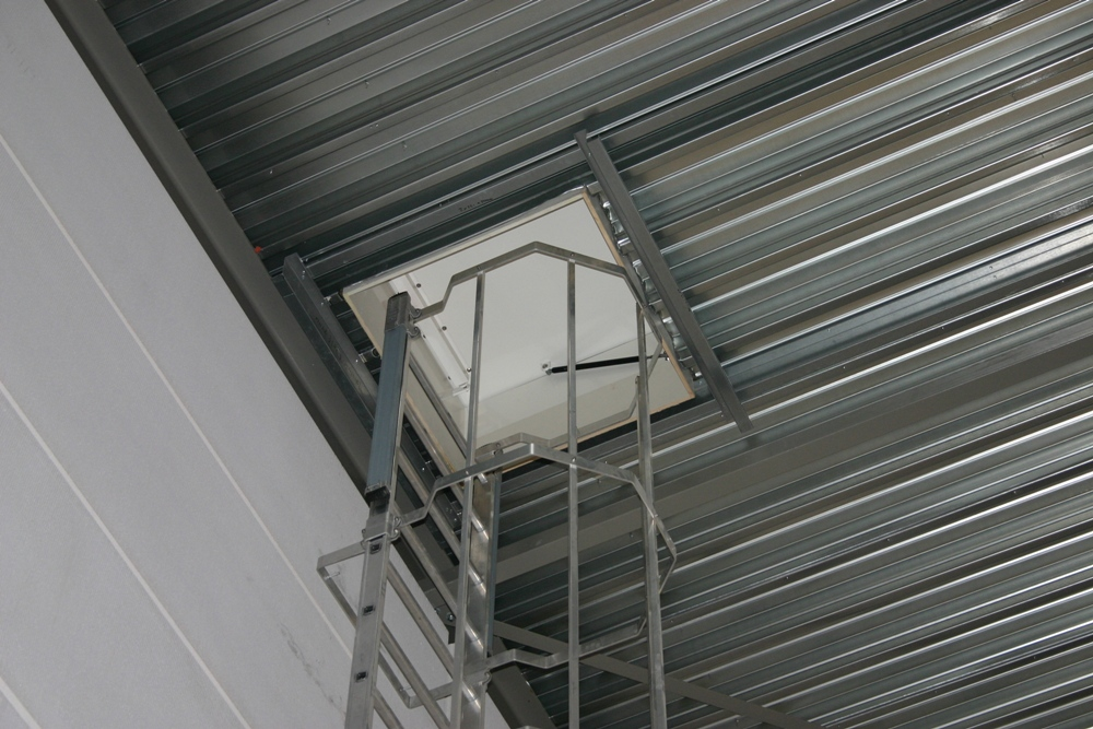 Roof Hatch With Ladder Amp Stairs Comply With All Applicable