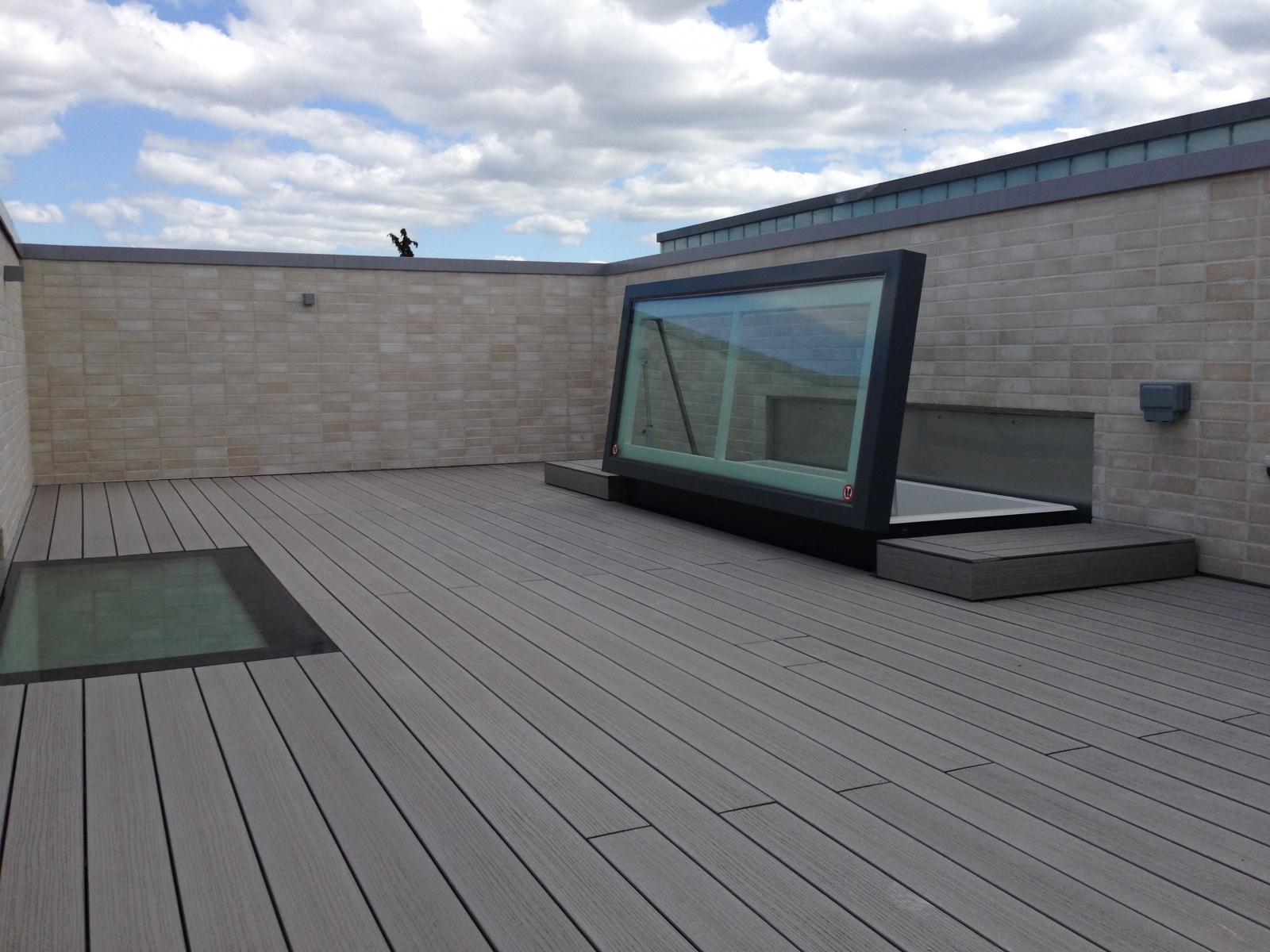 Home roof access glazed roof hatch glazed roof hatch - Maintenance Of Glass Roof Access Hatches Staka S Toplight Roof Access Hatches Are Equipped With Triple Glazing